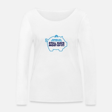 Meager I Had Nothing And I Have To Keep Everything! - Women's Organic Longsleeve Shirt