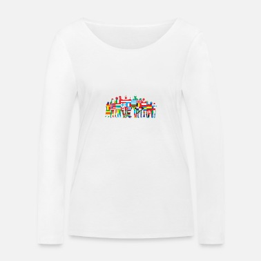 Community World Community - Vrouwen bio longsleeve