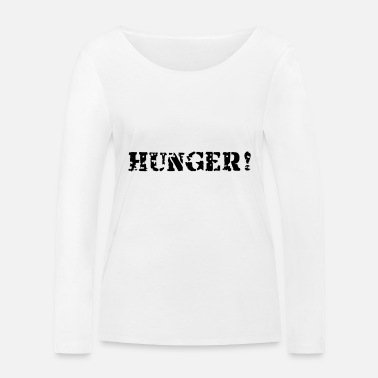 Hunger Hunger - T-shirt manches longues bio Femme