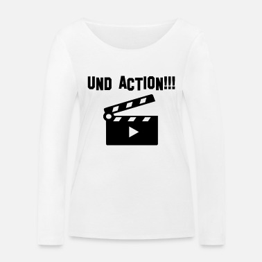 Action And action - Women's Organic Longsleeve Shirt