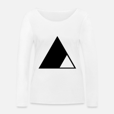 Triangle Triangle in the triangle - Women's Organic Longsleeve Shirt