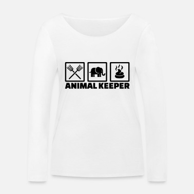 Keeper Animal keeper - T-shirt manches longues bio Femme