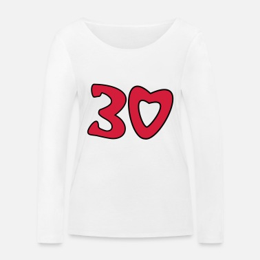 Thirty 30 - Thirty - Women's Organic Longsleeve Shirt