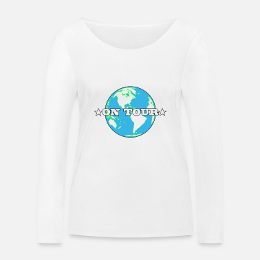 Tour On Tour / World Tour - Women's Organic Longsleeve Shirt
