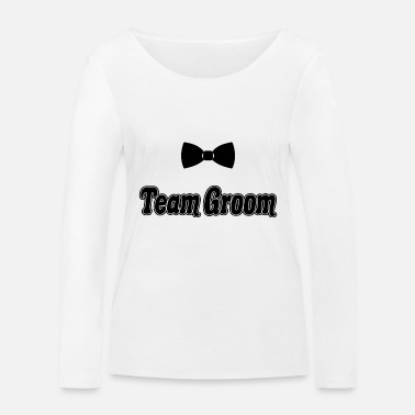 Together Team Groom Future Husband Bachelor Party Gift - Women's Organic Longsleeve Shirt