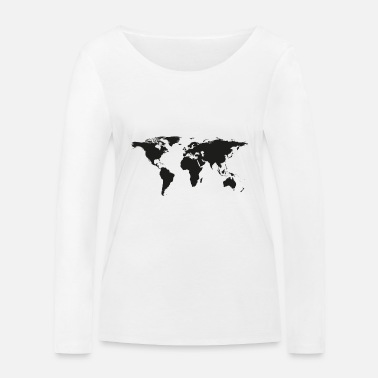 Earth earth - Women's Organic Longsleeve Shirt
