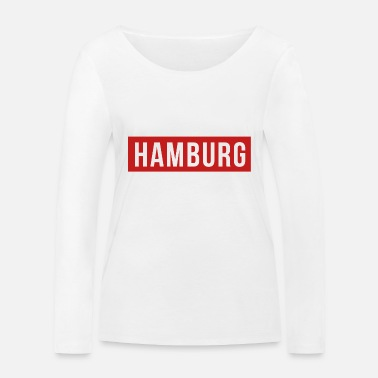 Club De Football Maillot de football du club de sport du club de football de Hambourg - T-shirt manches longues bio Femme