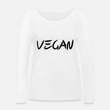 Bio VEGAN - Animal rights - Bio - Frauen Bio Langarmshirt