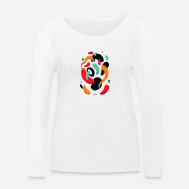 Abstract Abstract - Women's Organic Longsleeve Shirt
