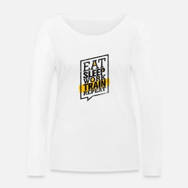 Training Shirt - Workout - Women's Organic Longsleeve Shirt
