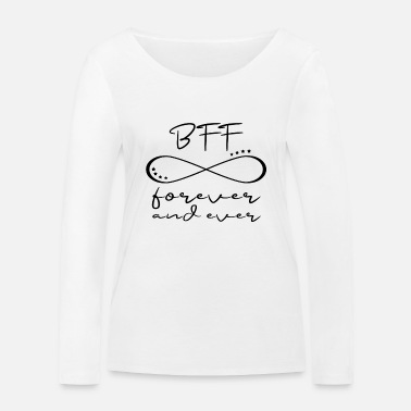 Bff Meilleur ami BFF infinity - T-shirt manches longues bio Femme