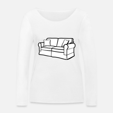 Couch couch - Women's Organic Longsleeve Shirt