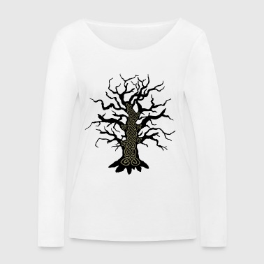Celtic tree celtic tree - Women's Organic Longsleeve Shirt by Stanley & Stella