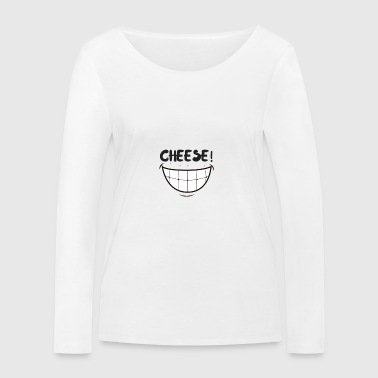 CHEESE - Women's Organic Longsleeve Shirt by Stanley & Stella