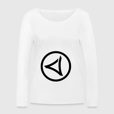 LOGO-VIRUS-RECORDS-IN-CYCLE - Women's Organic Longsleeve Shirt by Stanley & Stella