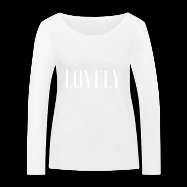 CHARMANT - T-shirt manches longues bio Stanley & Stella Femme