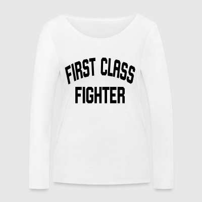 First Class Fighter - Women's Organic Longsleeve Shirt by Stanley & Stella
