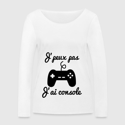 J'peux pas j'ai console - Geek Gamer Gaming - T-shirt manches longues bio Stanley & Stella Femme