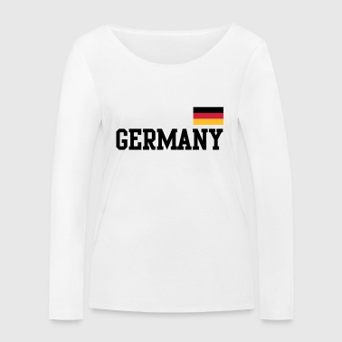 Germany flag - Germany Germany flag flag - Women's Organic Longsleeve Shirt by Stanley & Stella