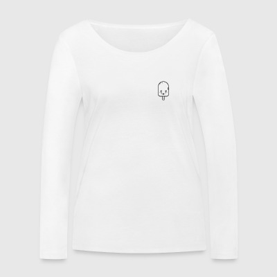 Ice cream - Women's Organic Longsleeve Shirt by Stanley & Stella