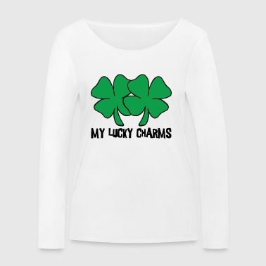 Irish My Lucky Charms Women's - Women's Organic Longsleeve Shirt by Stanley & Stella