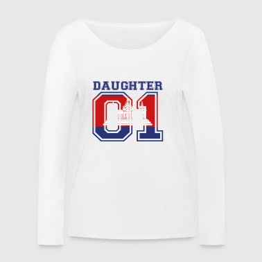 Daughter daughter queen 01 Cambodia - Women's Organic Longsleeve Shirt by Stanley & Stella