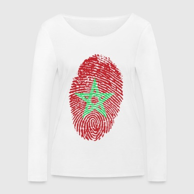 MAROC 4 EVER - T-shirt manches longues bio Stanley & Stella Femme
