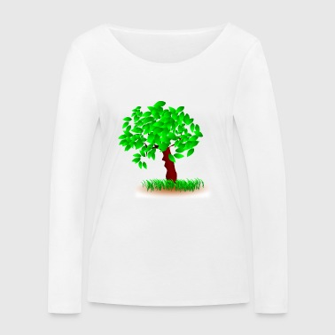A tree in the wind - Women's Organic Longsleeve Shirt by Stanley & Stella