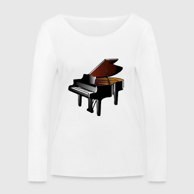 Piano à queue - T-shirt manches longues bio Stanley & Stella Femme