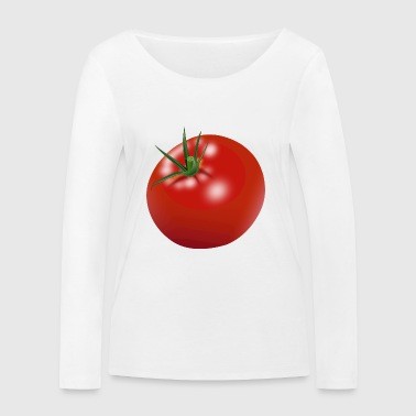Tomato gift chef cook - Women's Organic Longsleeve Shirt by Stanley & Stella
