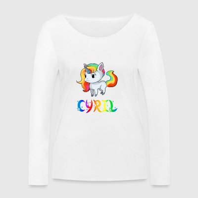 Unicorn Cyril - Women's Organic Longsleeve Shirt by Stanley & Stella