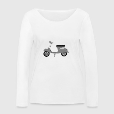 Classic scooter greys - Women's Organic Longsleeve Shirt by Stanley & Stella