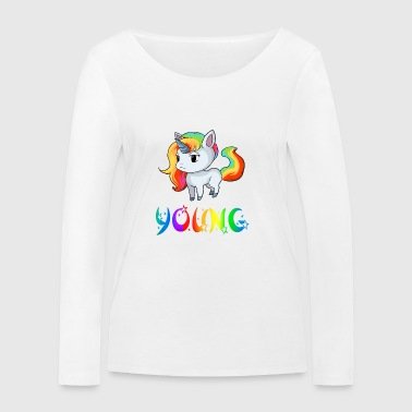 Unicorn Young - Women's Organic Longsleeve Shirt by Stanley & Stella