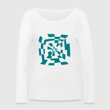 Surreal tunnel 1c chemin Abstract - T-shirt manches longues bio Stanley & Stella Femme