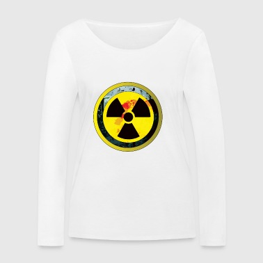 Careful, a radioactive design - Women's Organic Longsleeve Shirt by Stanley & Stella