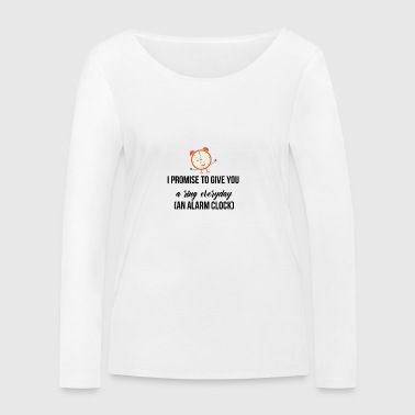 I promise to give you a ring everyda - Frauen Bio-Langarmshirt von Stanley & Stella