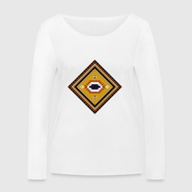 native american pattern - Women's Organic Longsleeve Shirt by Stanley & Stella