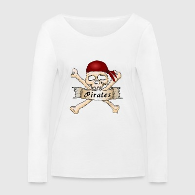 pirates - T-shirt manches longues bio Stanley & Stella Femme