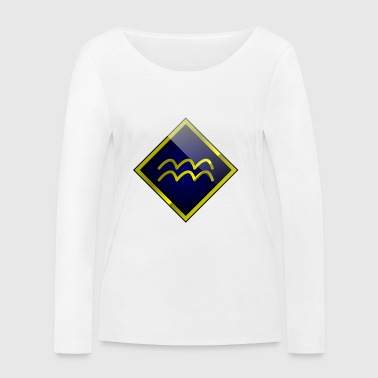 Aquarius astrology horoscope - Women's Organic Longsleeve Shirt by Stanley & Stella