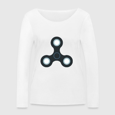Fidget spinner rotation toy toys - Women's Organic Longsleeve Shirt by Stanley & Stella
