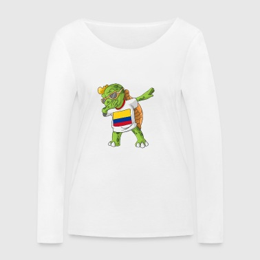 Colombie tortue tamponnant - T-shirt manches longues bio Stanley & Stella Femme