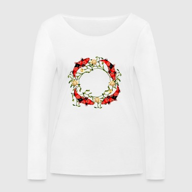 Mare Christmas - Women's Organic Longsleeve Shirt by Stanley & Stella