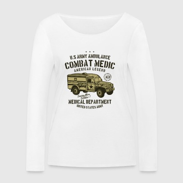 Medical Department Combat Medic - Women's Organic Longsleeve Shirt by Stanley & Stella