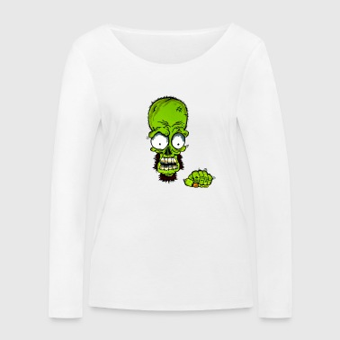 poing Ghetto Monstre II - T-shirt manches longues bio Stanley & Stella Femme