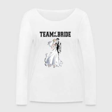 Team of the Bride - Ekologisk långärmad T-shirt dam från Stanley & Stella