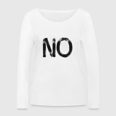 no anti demo Motto streetart versus statement lol - Women's Organic Longsleeve Shirt by Stanley & Stella