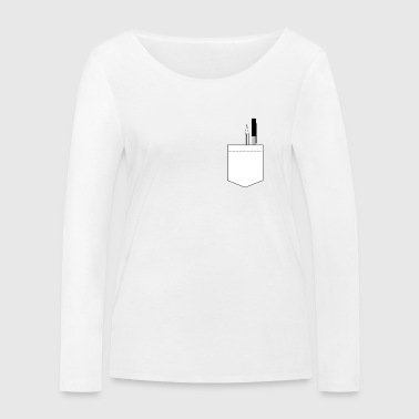Bag with pins Gift idea - Women's Organic Longsleeve Shirt by Stanley & Stella
