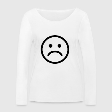 Sad smiley sad - Women's Organic Longsleeve Shirt by Stanley & Stella