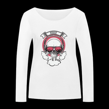 SKULL House - T-shirt manches longues bio Stanley & Stella Femme