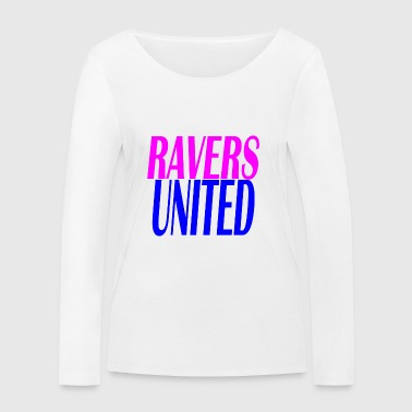 ravers united - T-shirt manches longues bio Stanley & Stella Femme